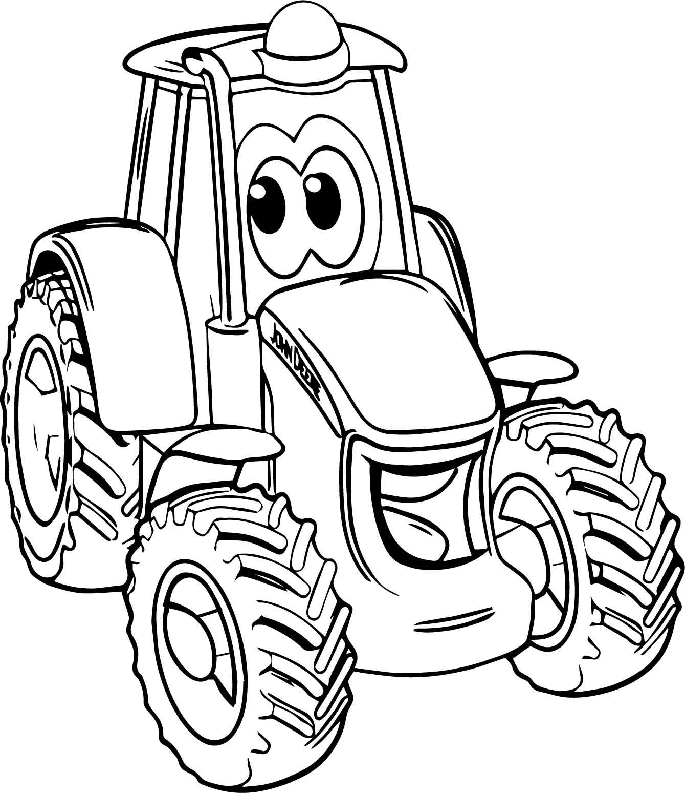 1339x1548 Fresh Simple Tractor Coloring Pages Best Of Funny Tractor Coloring