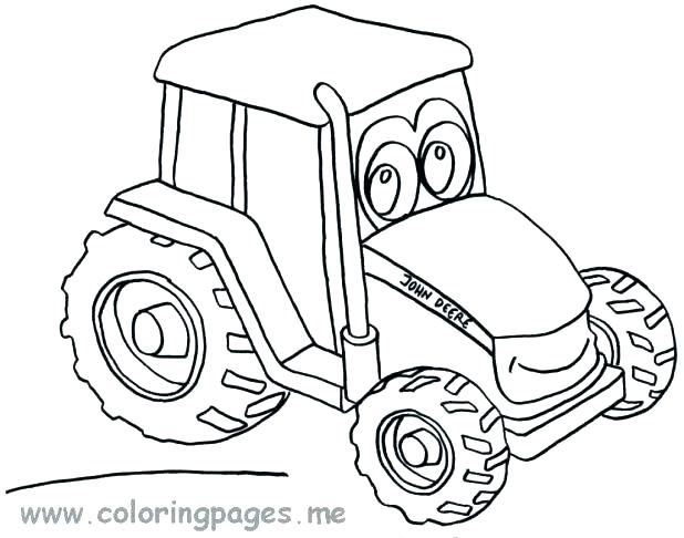 618x486 Free Tractor Coloring Pages Free Tractor Coloring Pages John