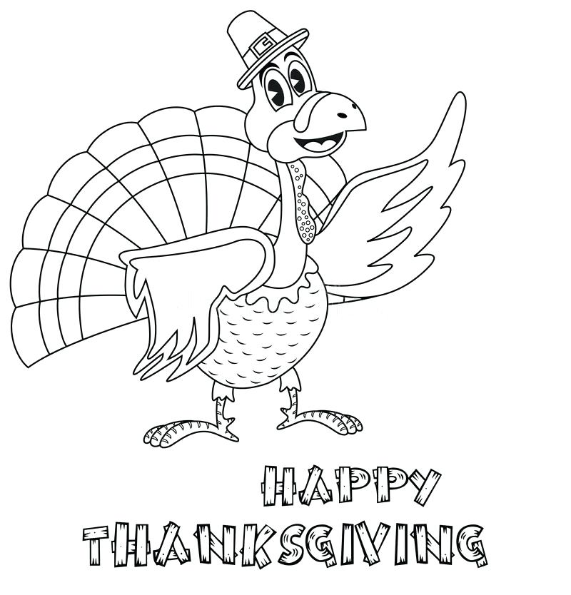 800x834 Turkey Coloring Page Print Out Free Printable Turkey Coloring