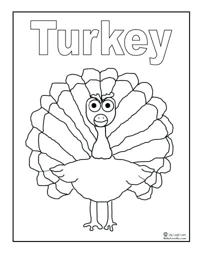 400x518 Turkey Coloring Picture Turkey Coloring Page Astonishing