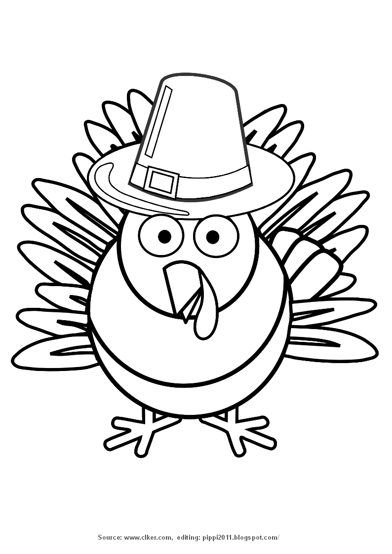 794x1123 Turkey Black And White Turkey Clip Art Coloring Pages Pippi