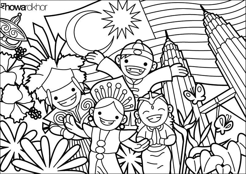 800x566 Malaysia To Color Malaysia Malaysia