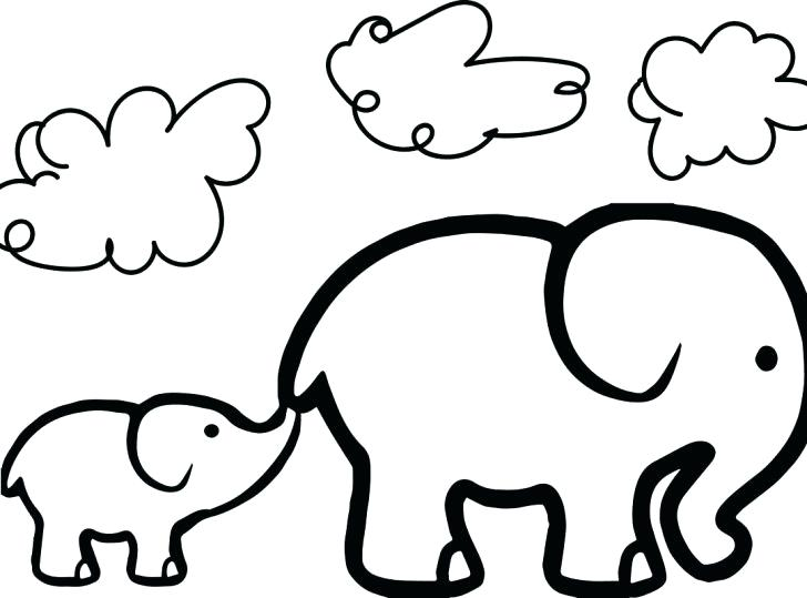 728x539 Coloring Coloring Animals For Kids Pages Tree Free Printable