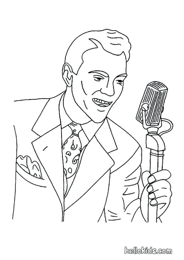 602x850 Kid Singing Coloring Page Kid Singing Coloring Page My Singing