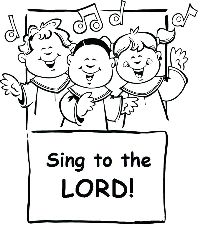 672x779 Singer Coloring Pages