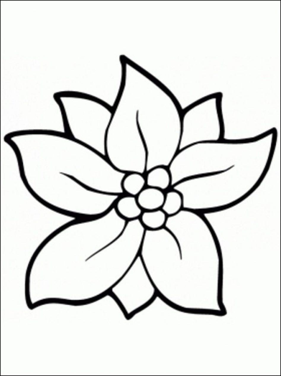 948x1268 Daring Single Flower Coloring Pages Mayapurjac