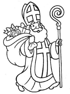 236x317 Saint Nicholas Coloring Pages Do Saint Nicholas