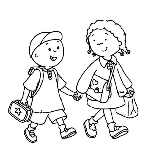 Sister Coloring Page