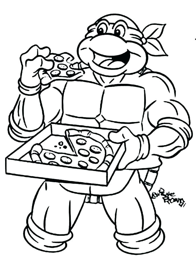 689x926 Michelangelo Coloring Pages Coloring Pages Turtle Coloring Pages