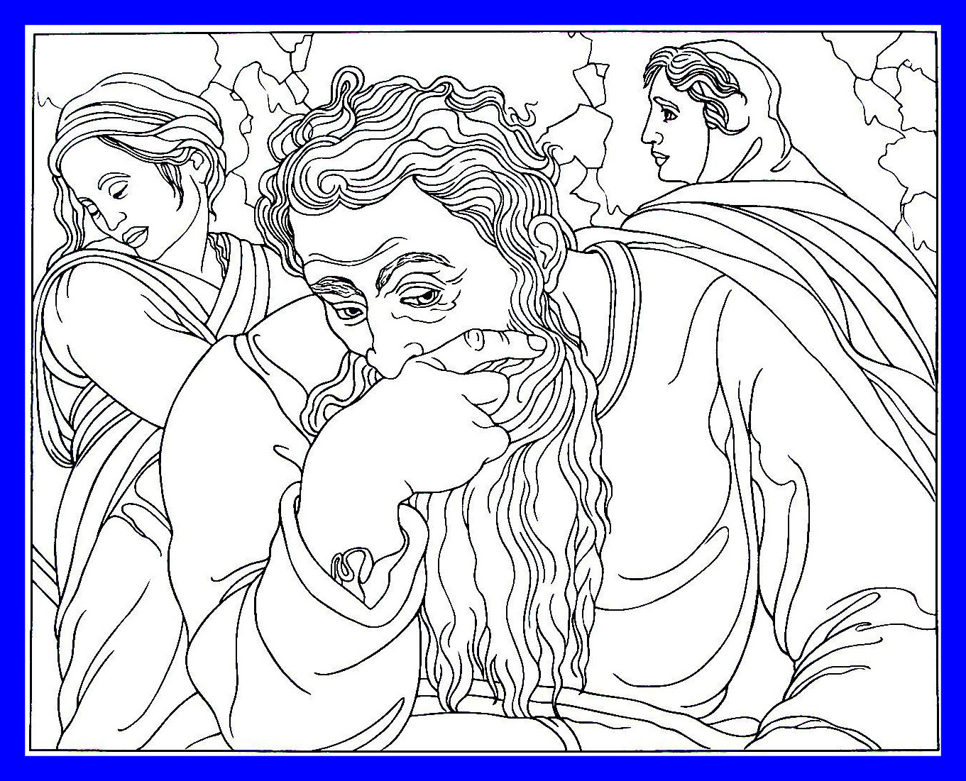 1361x1101 Astonishing Jeremiah From The Sistine Chapel Painting