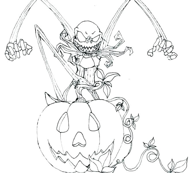 678x600 Skeleton Coloring Book Jack The Pumpkin King Coloring Pages