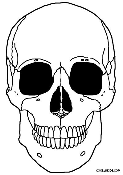 399x565 Printable Skeleton Coloring Pages For Kids