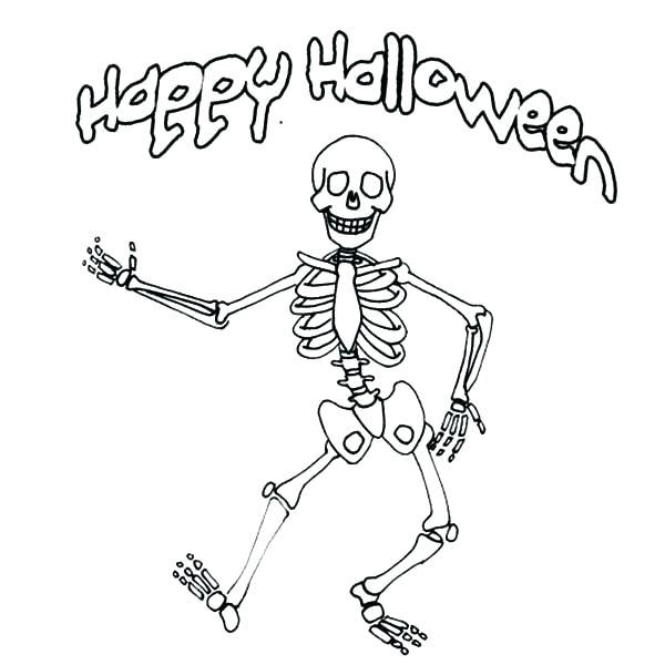 600x600 Skeleton Coloring Sheet Elegant Skeletal M Coloring Pages Online