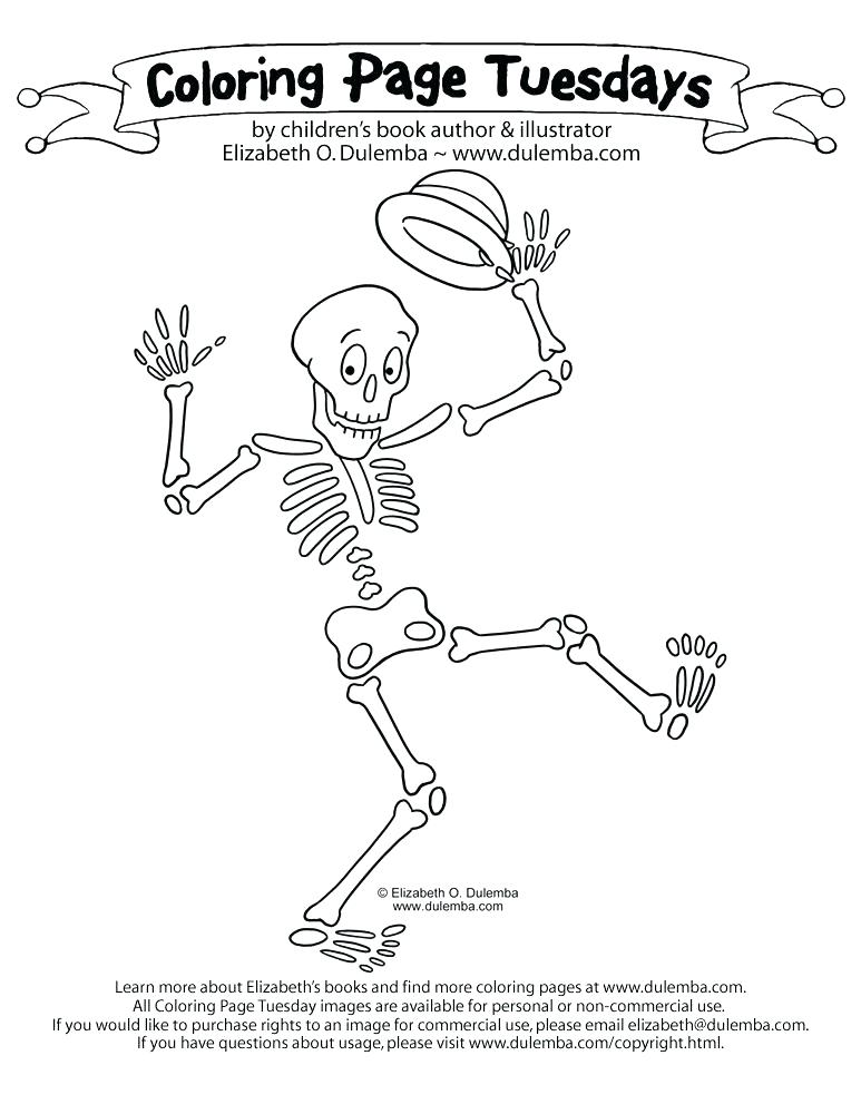 773x1000 Skeleton Coloring Pages Bone Coloring Page Dog Skeleton Coloring