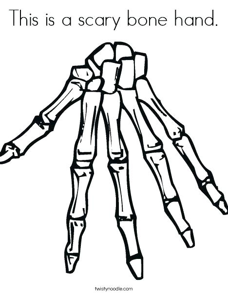 468x605 Human Skeleton Coloring Page Anatomy Of A Bone Coloring Skeleton