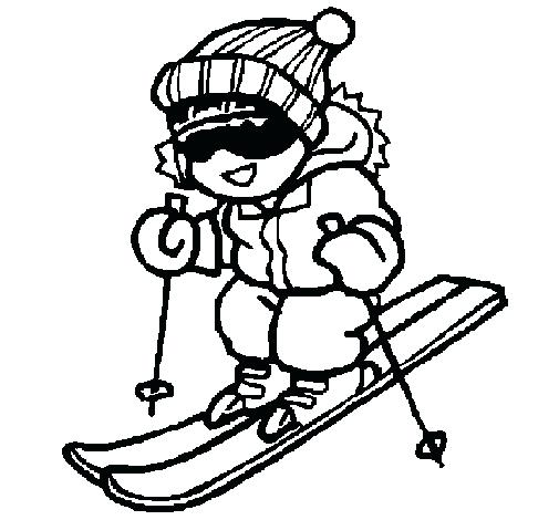 505x470 Goofy Going Skiing Coloring Page Or Goofy Going Skiing Coloring