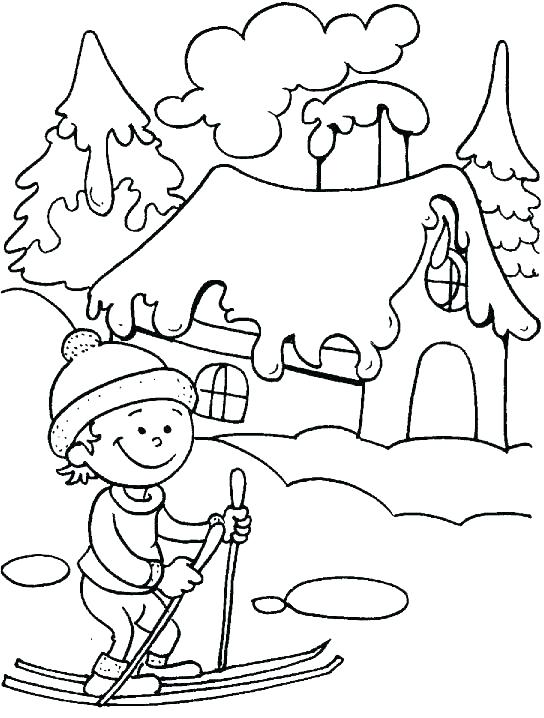 544x718 Skiing Coloring Pages Skiing Coloring Pages Skiing Coloring Pages