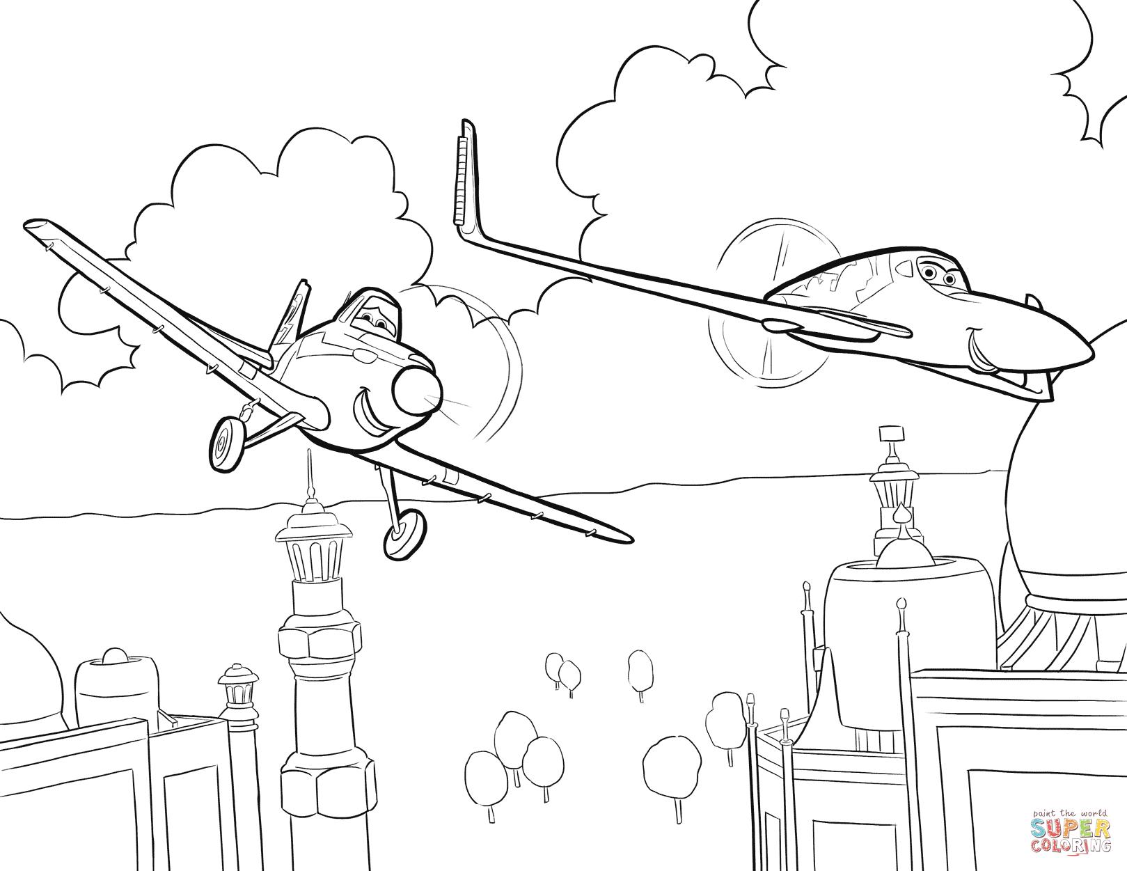 1619x1251 Plane Coloring Page Disney Planes Pages Free Arilitv Plane Plane