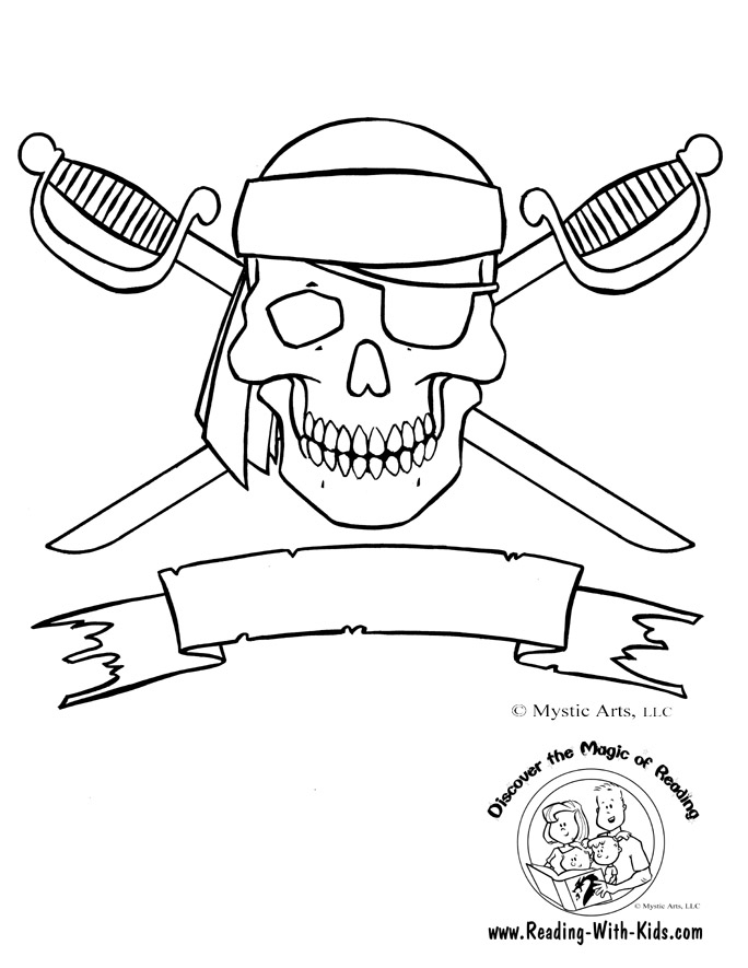 684x885 Skull And Crossbones Coloring Page