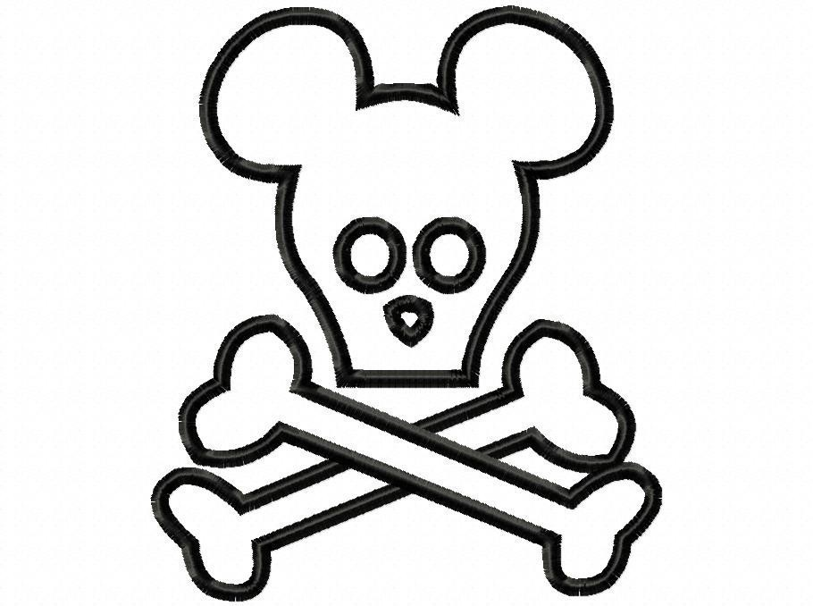 910x678 Skull And Crossbones Coloring Pages