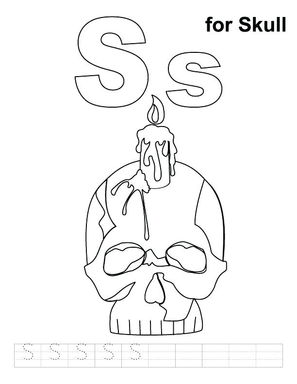 612x792 Skull Bones Coloring Pages Printable Skull Coloring Pages Coloring