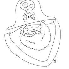 220x220 Skull And Crossbones Coloring Pages