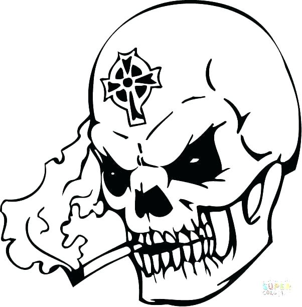602x612 Coloring Pages To Print Skull Coloring Pages To Print Day
