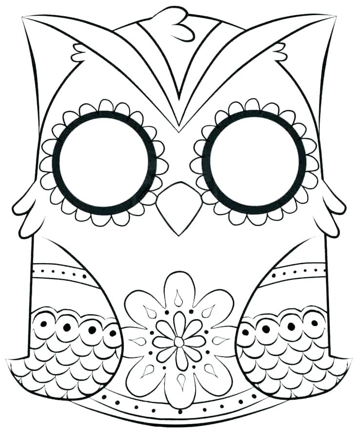 736x889 Free Printable Sugar Skull Coloring Pages