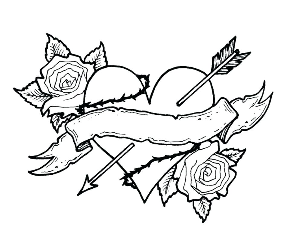 960x773 Roses Coloring Page Free Roses Coloring Pages For Adults Sugar