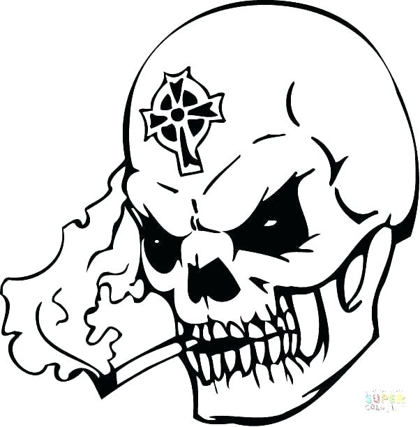 602x612 Firetruck Coloring Page Flame Coloring Page Skull Printable