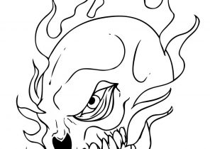296x210 Skull Coloring Pages