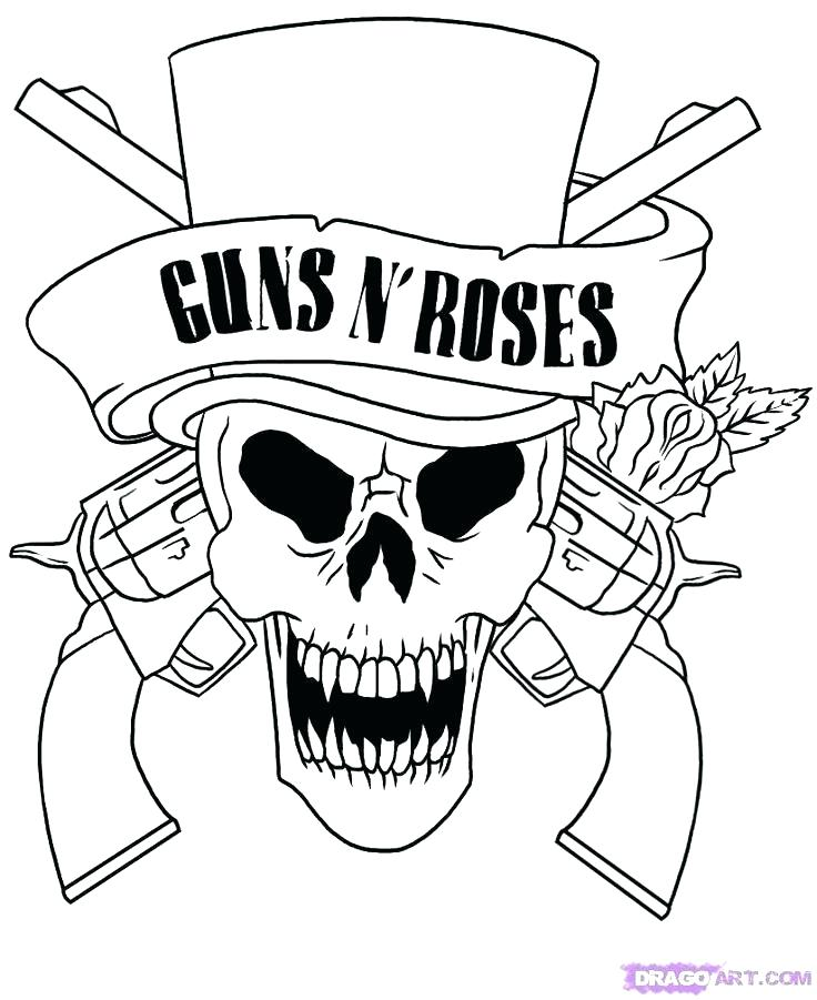 736x901 Coloring Pages Of Skulls Skull Coloring Pages Coloring Pages