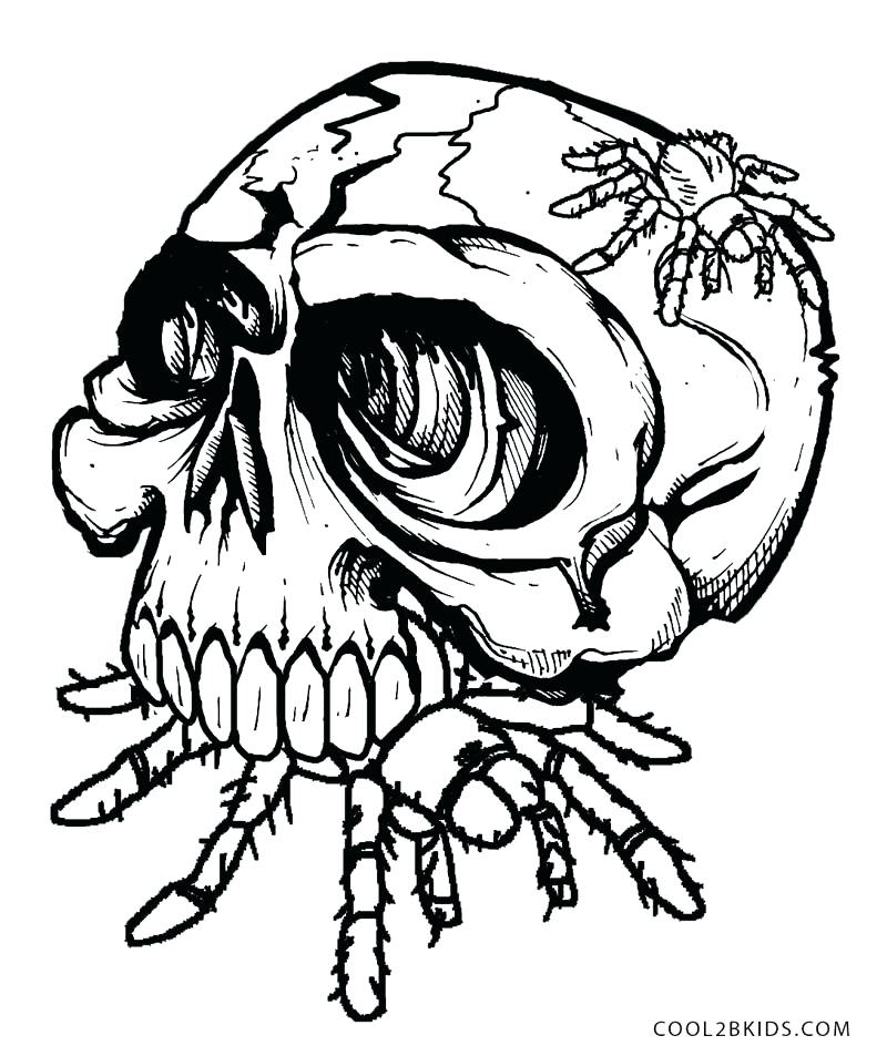 800x953 Coloring Pages Skull Skulls Coloring Pages Coloring Pages Fire