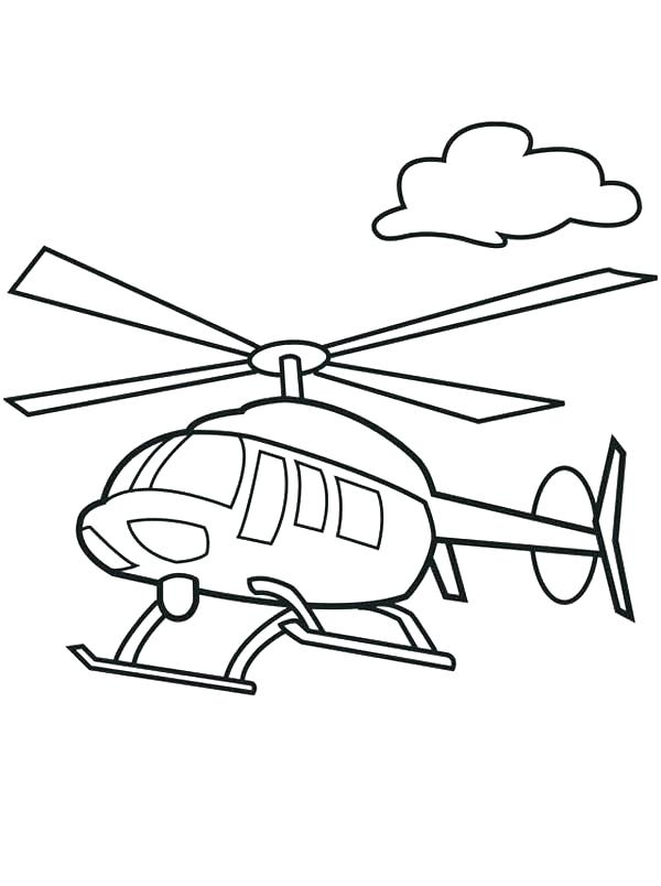 600x804 Helicopter Coloring Page Coloring Pages Draw A Helicopter