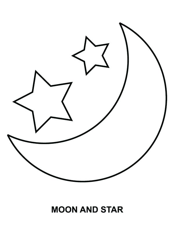 600x776 Sea Star Coloring Page Moon And Star Coloring Page Coloring Sky