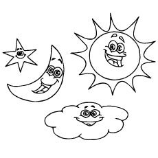 230x230 Top Free Printable Moon Coloring Pages Online