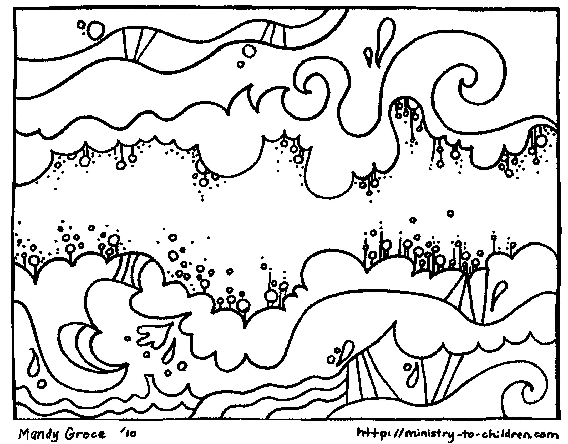 2160x1692 Creation Coloring Pages God Made The Sky Welcome To Grace Church