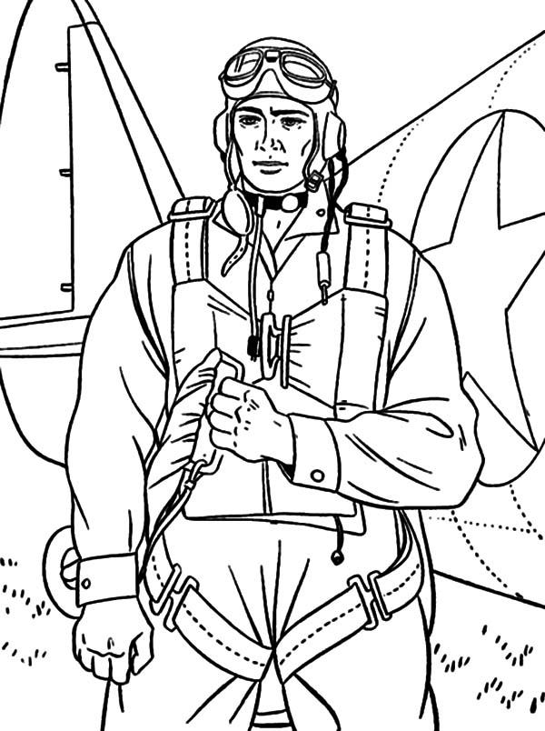 600x804 Parachute Coloring Pages