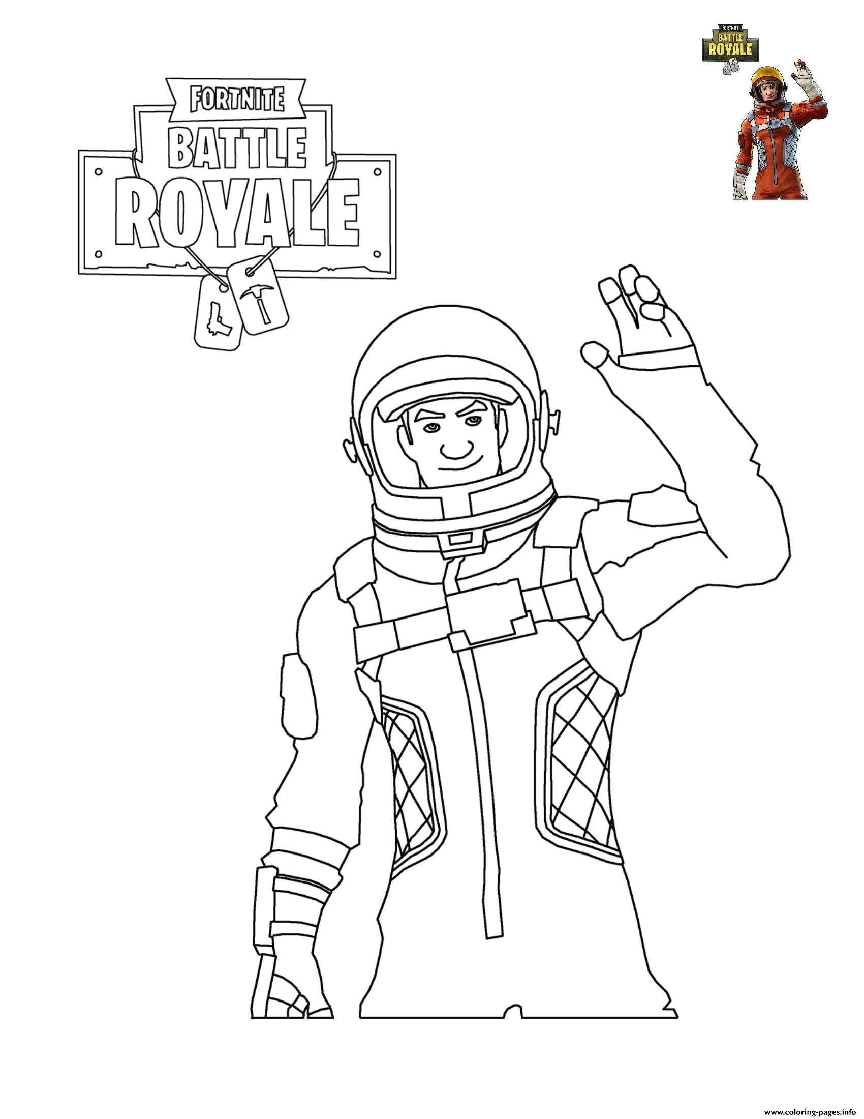 1700x2200 Fortnite Character Coloring Pages Printable