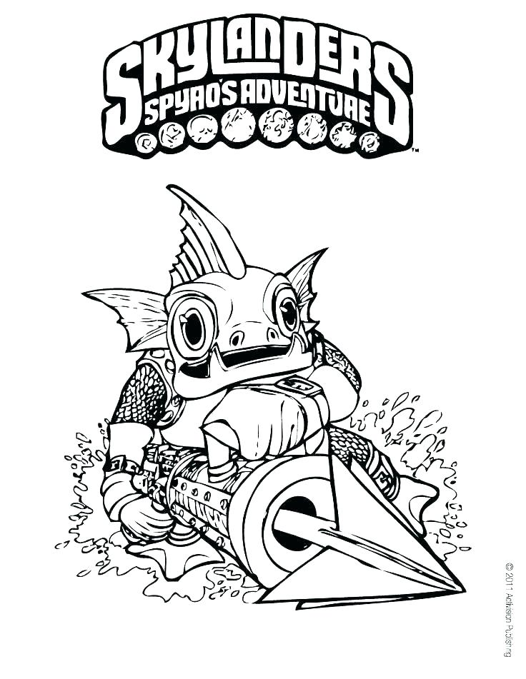 graphic regarding Skylanders Coloring Pages Printable referred to as Skylanders Coloring Internet pages In the direction of Print at  No cost