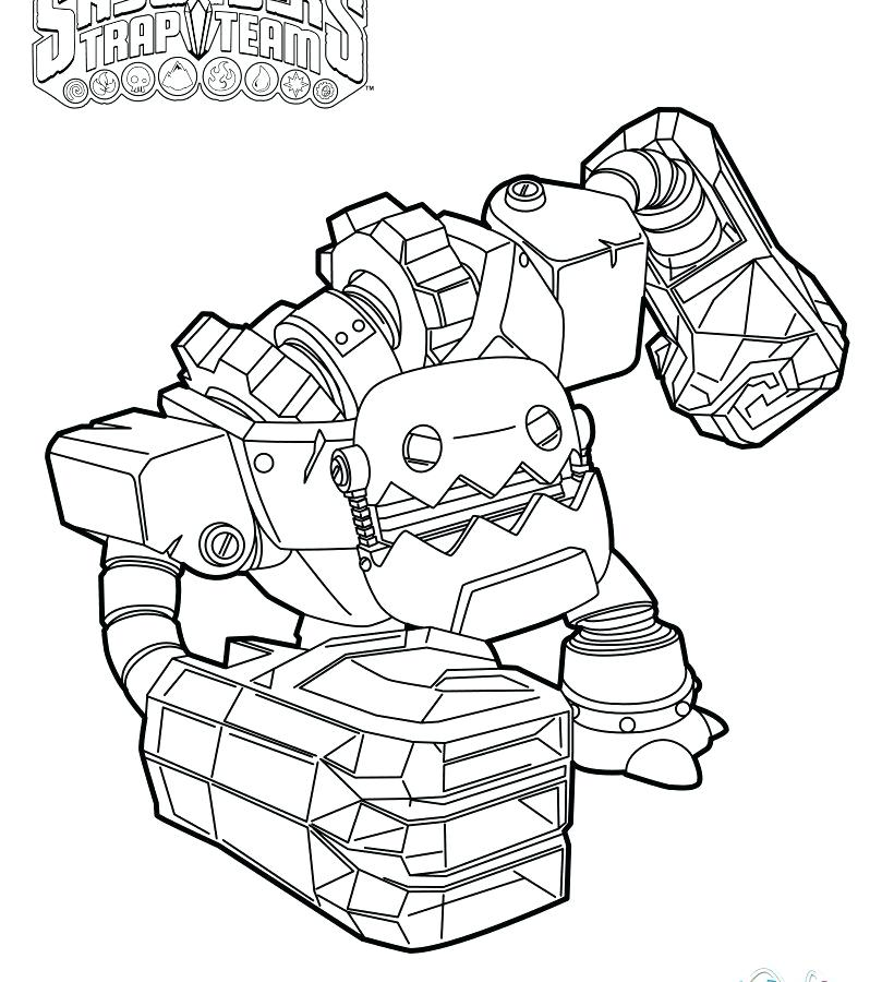 Skylanders Coloring Pages To Print at GetDrawings.com | Free ...
