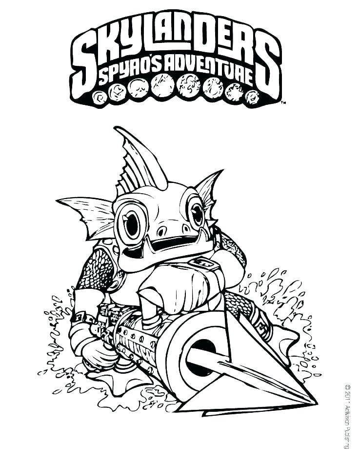 Skylanders Giants Coloring Pages