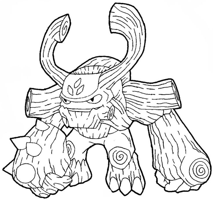 Skylanders Giants Coloring Pages At Getdrawings Com Free For