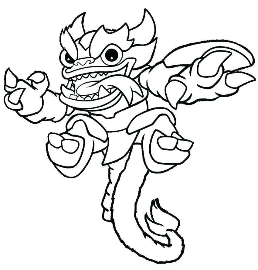 850x889 Skylanders Color Pages Pretty Coloring Pages To Print Fee