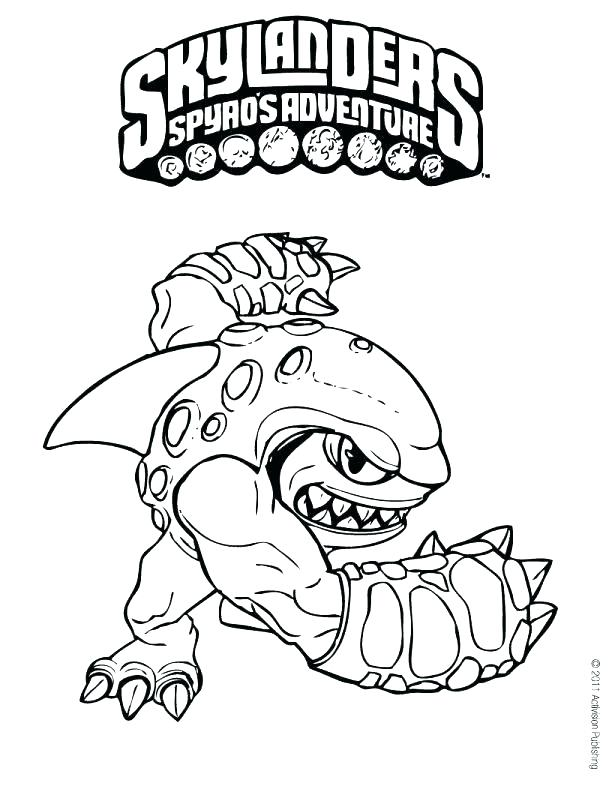 615x795 Skylanders Coloring Pages To Print Free Printable Giants Trap Team