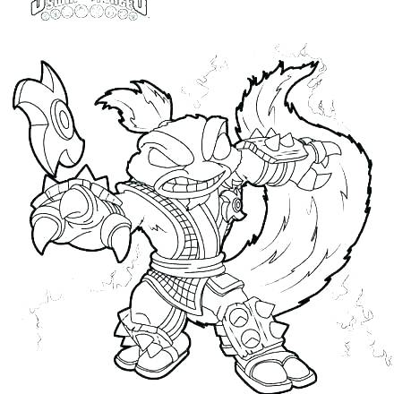 440x440 Best Images On A Coloring Page Skylander Giants Coloring Pages