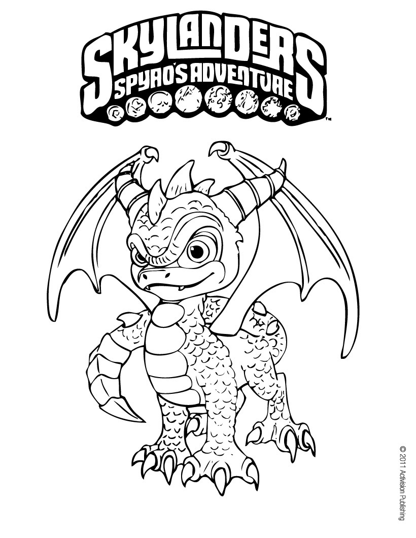 820x1060 Skylanders Hot Head Coloring Pages Printable Coloring For Kids