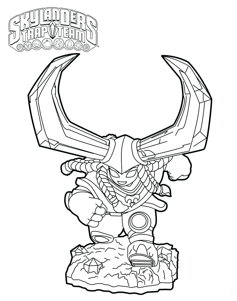 820x1043 Best Of Coloring Skylander Giants Coloring Pages Fascinating