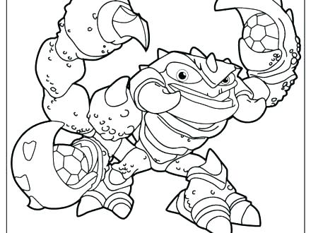 440x330 Free Skylanders Coloring Pages Free Printable Coloring Pages