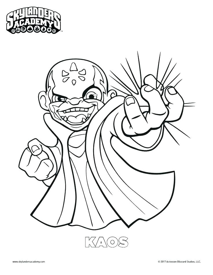 736x952 Skylander Color Pages Printable Coloring Pages Free Coloring Page